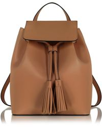 Le Parmentier | Cognac Leather Backpack | Lyst