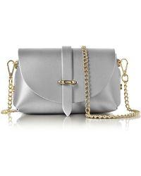Le Parmentier - Caviar Metallic Leather Mini Shoulder Bag - Lyst