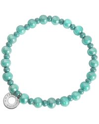 Antica Murrina - Perleadi Turquoise Murano Glass Beads Bracelet - Lyst