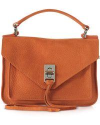 Rebecca Minkoff - Nubuck Leather Mini Darren Messenger Bag - Lyst