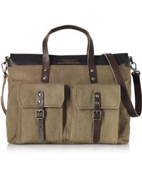 The Bridge Marcopolo Viaggio Marrone Leather Messenger Bag in Brown ... 37167e0b98687