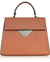Coccinelle - B14 Leather Satchel Bag - Lyst