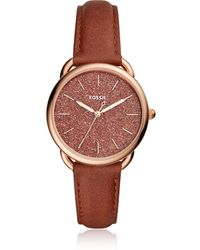 Fossil - Tailor Three Hand Terracotta Women's Watch - Lyst