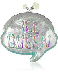 Sophia Webster - Ice Queen Speech Metallic Pochette W/chain Strap - Lyst