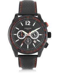 FORZIERI - Assen Black And Red Chronograph Men's Watch - Lyst