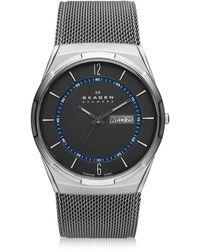 Skagen - Men's Titanium Mesh Bracelet Watch 40mm Skw6078 - Lyst