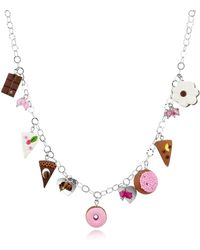 Dolci Gioie - Sterling Silver Charm Necklace - Lyst