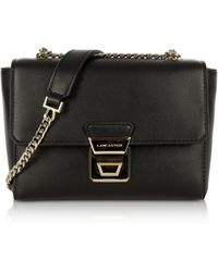Lancaster Paris - Gena Or Leather Small Crossbody Bag - Lyst