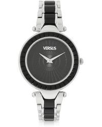Versus - Sertie Stainless Steel And Resin Women's Watch - Lyst