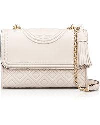 Tory Burch - Fleming Leather Small Convertible Shoulder Bag - Lyst
