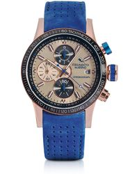 Strumento Marino - Admiral Leather Chronograph Men's Watch - Lyst