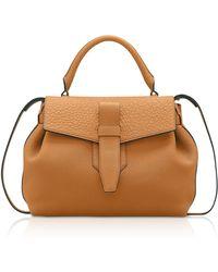 Lancel - Charlie Medium Grained Leather Handbag - Lyst