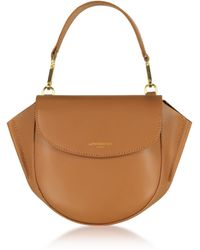 Le Parmentier - Astorya Leather Mini Bag W/shoulder Strap - Lyst