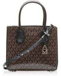 a6fbef369238 Mulberry Amberley Leather Crossbody Bag. $1,350. Nordstrom · Michael Kors -  Monogram Mercer Medium Messenger Bag - Lyst