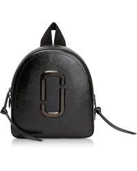 Marc Jacobs - Black Leather Pack Shot Dtm Backpack - Lyst
