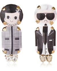Bijoux De Famille - Karl & Coco Pendant Earrings - Lyst