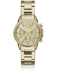 Armani Exchange - Ax4327 Lady Banks Women's Watch - Lyst