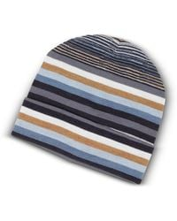 Missoni - Striped Wool Blend Men's Hat - Lyst