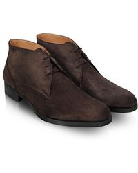Moreschi   Stiria - Dark Brown Suede Ankle Boots   Lyst