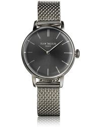 LOCMAN 1960 Silver Stainless Steel Women's Watch - Metallic