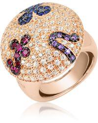 Azhar - Multicolor Fashion Ring - Lyst