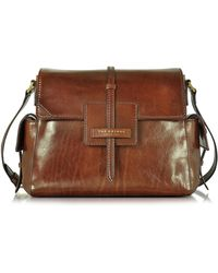 The Bridge | Icons Marrone Leather Shoulder Bag | Lyst