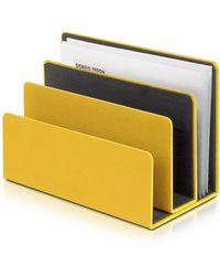 Giorgio Fedon - Charme - Yellow Desk Letter Holder - Lyst