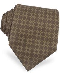 Moreschi - Printed Silk Tie - Lyst