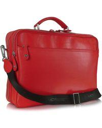 Moreschi - Calf Leather Laptop Briefcase - Lyst