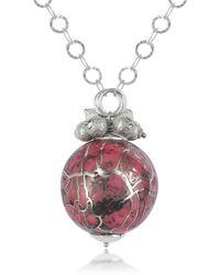 Naoto - Alchimia - Sterling Silver Fuchsia Pendant Necklace - Lyst