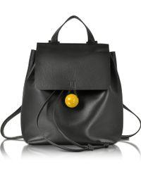 Corto Moltedo - Rose Black Nappa Backpack - Lyst