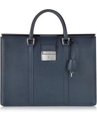Pineider | City Chic Embossed Leather Briefcase | Lyst