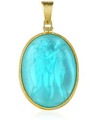 Tagliamonte - Three Graces - 18k Gold Mother Of Pearl Cameo Pendant - Lyst