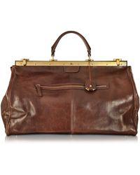 The Bridge | Story Viaggio Marrone Leather Travel Bag | Lyst