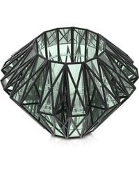 Vojd Studios | Translucent Glass Cage Statement Cuff | Lyst