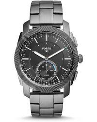 Fossil - Q Machine Hybrid Smartwatch - Lyst