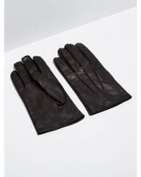 Frank And Oak - Lambskin Gloves In Black - Lyst