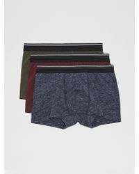 Frank And Oak - 3-pack Cotton Trunks - Lyst