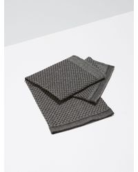 Frank And Oak - Balsem Guest Towel In Black - Lyst