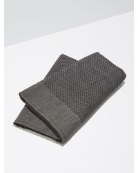 Frank And Oak - Balsem Bath Towel In Black - Lyst