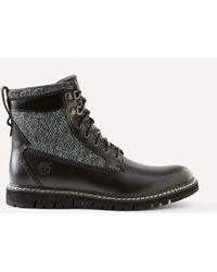 Frank + Oak - Timberland Britton Hill Wing In Black - Lyst