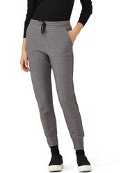 Frank And Oak - Double Face Jogger In Mixed Black - Lyst