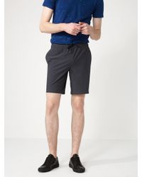 """Frank And Oak - 9"""" Street-to-sea Trunks In Charcoal - Lyst"""