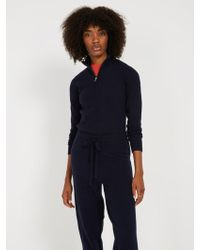 Frank And Oak - Half-zip Retro Ski Sweater - Dark Blue - Lyst