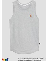 """Frank And Oak - """"and"""" Pride Tank - Lyst"""