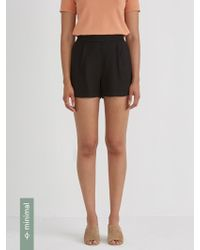 Frank And Oak - Pull On Flat Front Short - Lyst