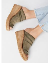 Free People - Dakota Wedge - Lyst