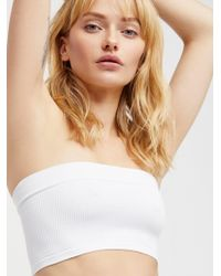 Free People | Not So Basic Bandeau | Lyst
