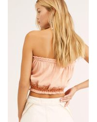 4f32ea863a3 Free People - No More Tiers Tube Top - Lyst