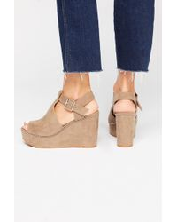 Free People - Vegan Darcy Wedge By Bc Footwear - Lyst